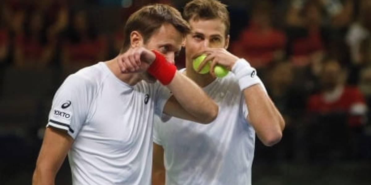 Holanda se quedó con el dobles ante Canadá en la Davis y alarga la tensión para Chile