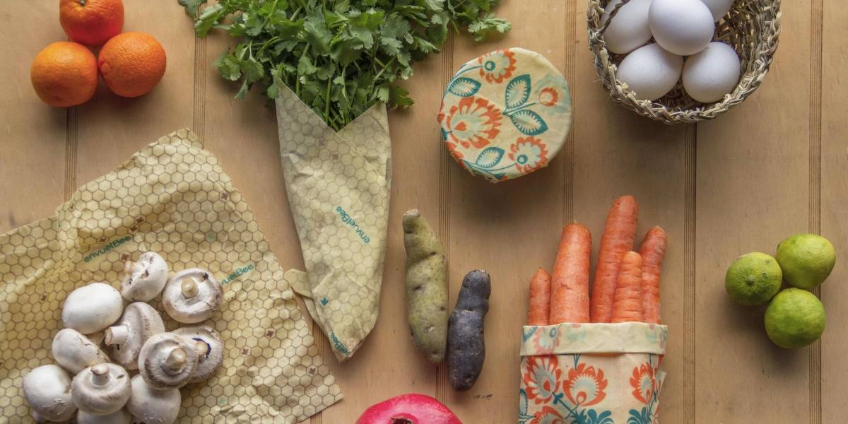 EnvuelBee: el emprendimiento que quiere eliminar el plástico en las cocinas con cera de abeja