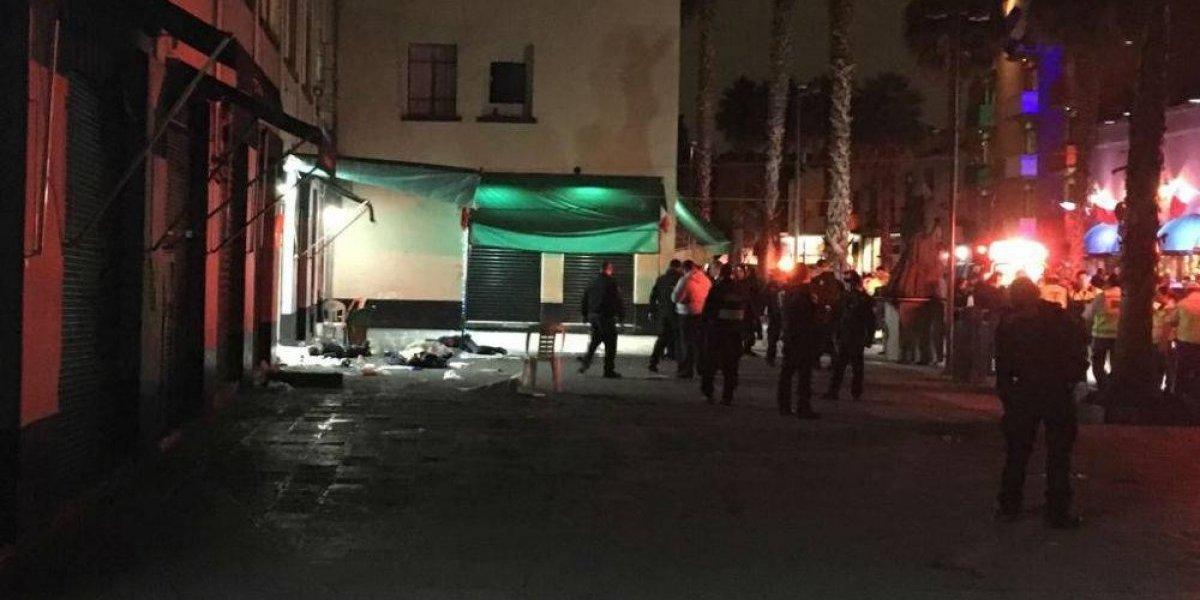 Se registra balacera en Garibaldi; hay tres muertos
