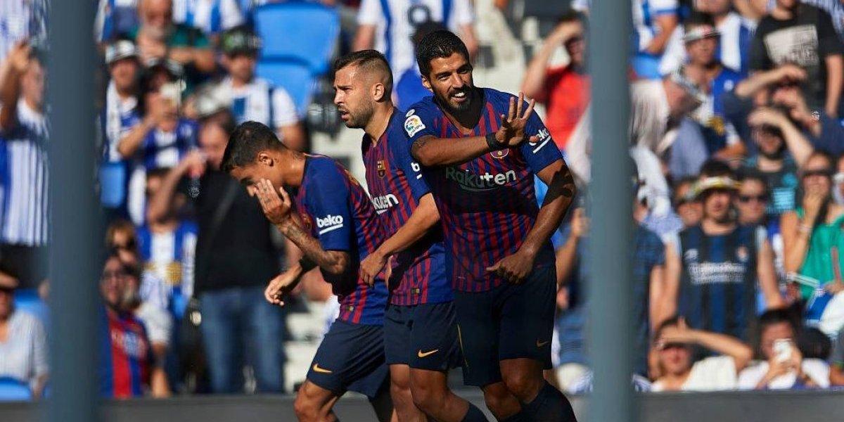 Barcelona lo dio vuelta ante la Real Sociedad con Vidal ingresando en los minutos finales