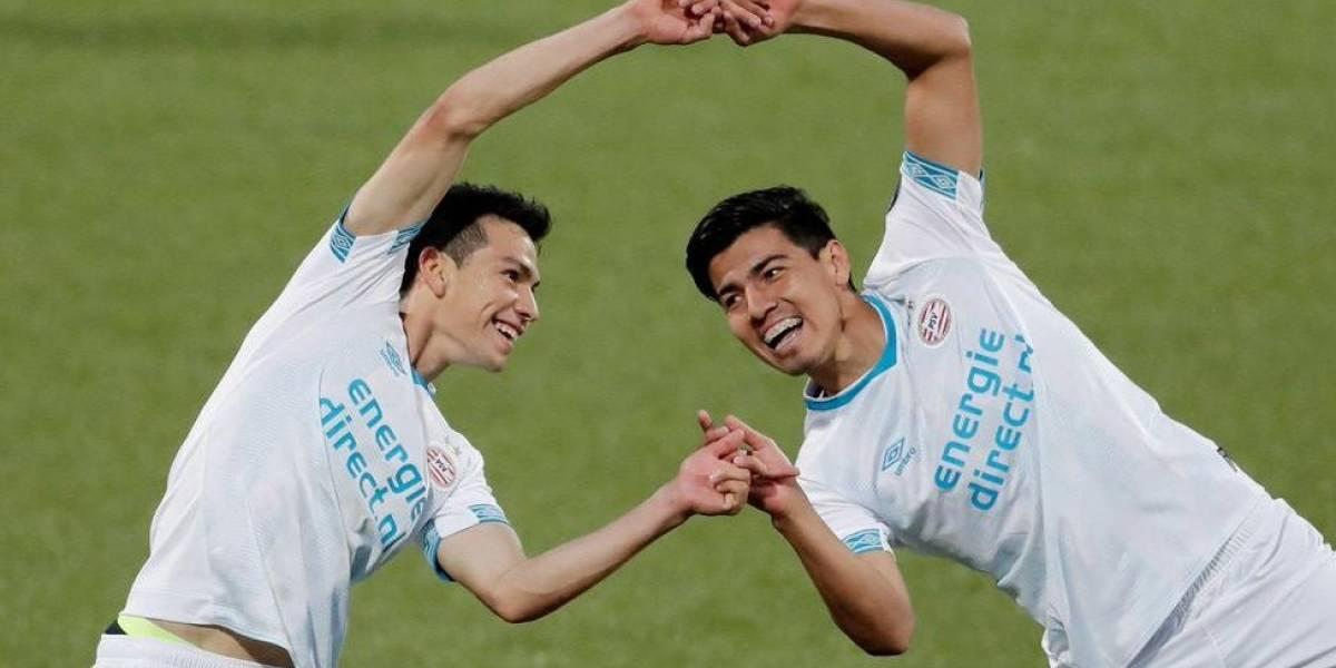 VIDEO: Golazo de Erick Gutiérrez en su debut con PSV Eindhoven