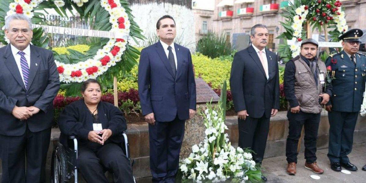 Rinden homenaje a víctimas del atentado de Morelia de 2008