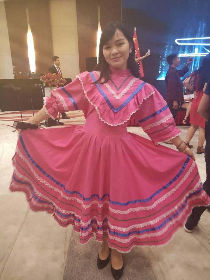 Grito de Independencia de México en China Foto: Facebook Embajada de México en China