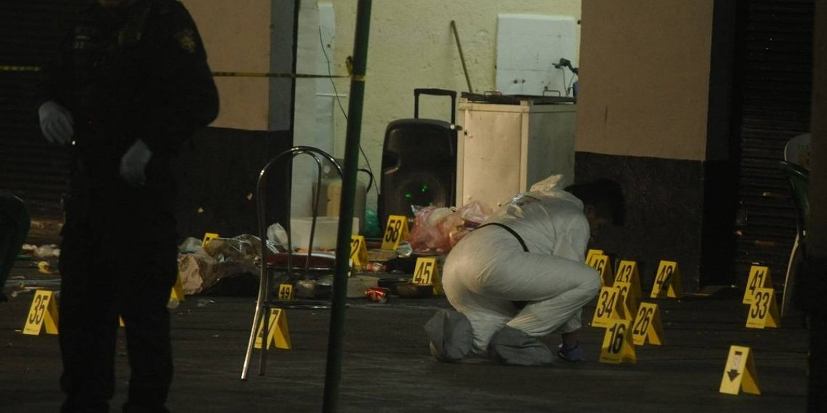 Balacera en Plaza Garibaldi deja cinco muertos