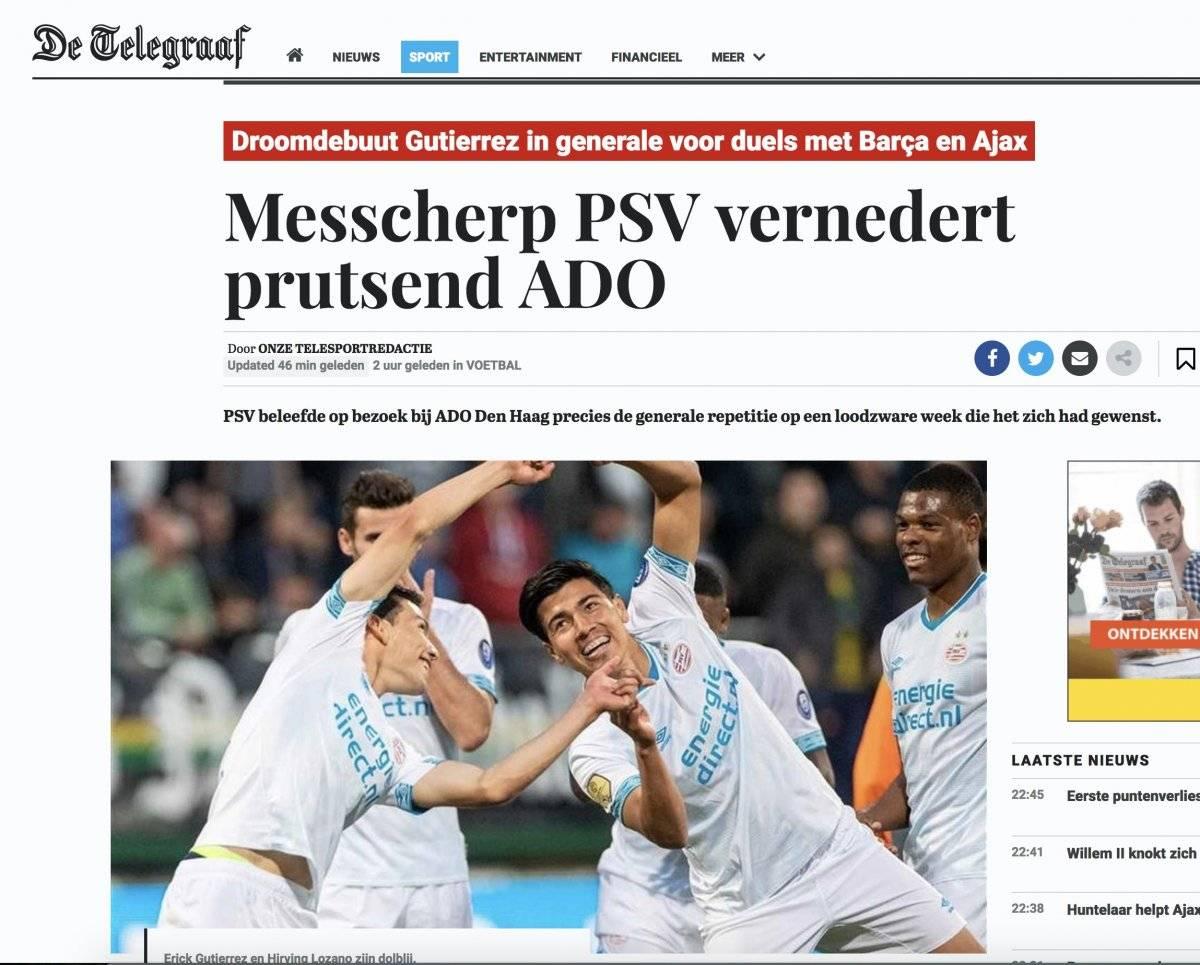Prensa holandesa Cortesía