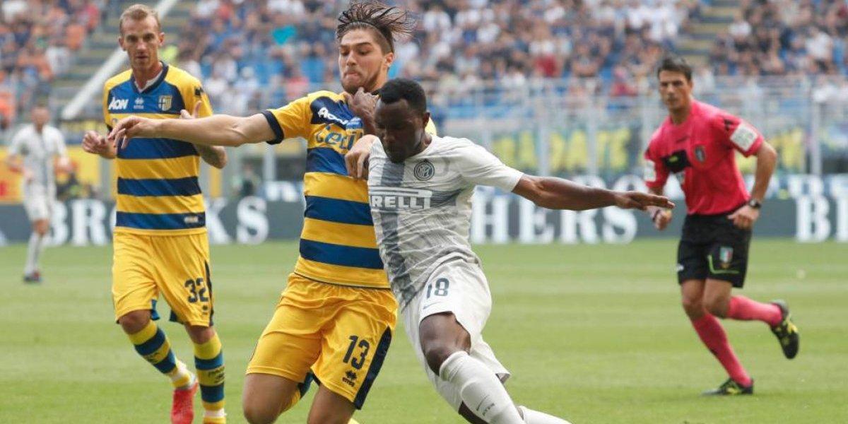 Parma dio la sorpresa ante el poderoso Inter con el debutante Francisco Sierralta