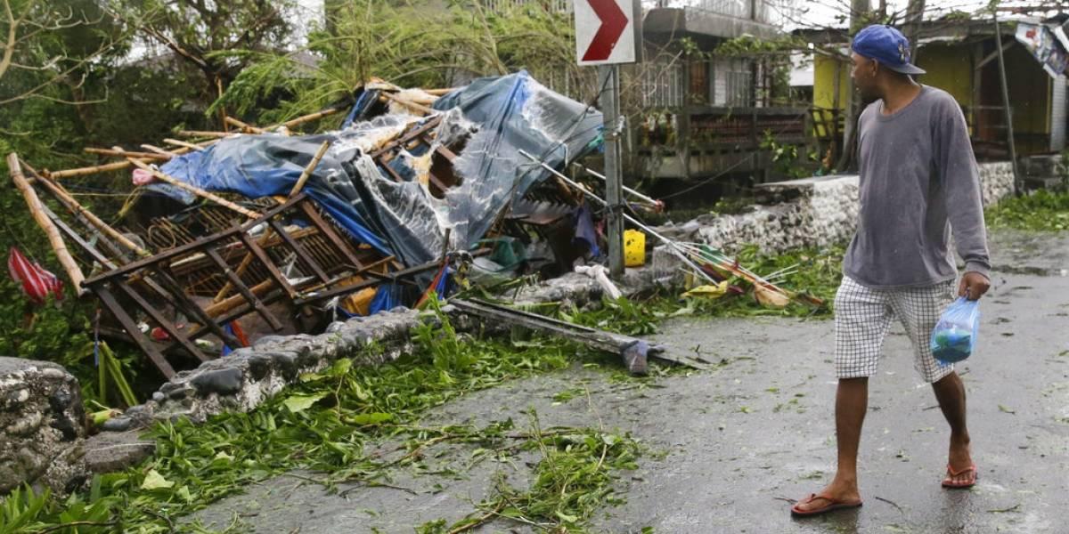 La destrucción que dejó el tifón Mangkhut  en Filipinas