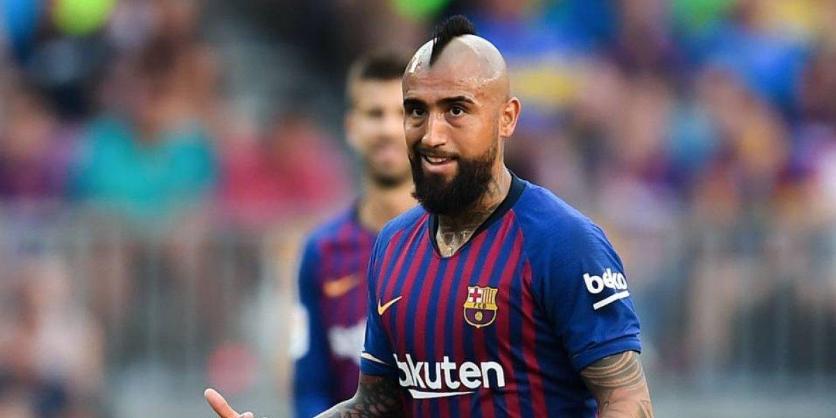 La respuesta que dio Valverde al ser cuestionado por el cambio de Vidal en el Barça
