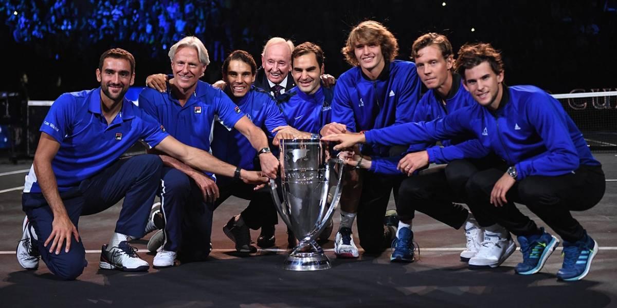Europa contra el mundo: ¿Qué es la Laver Cup de tenis?