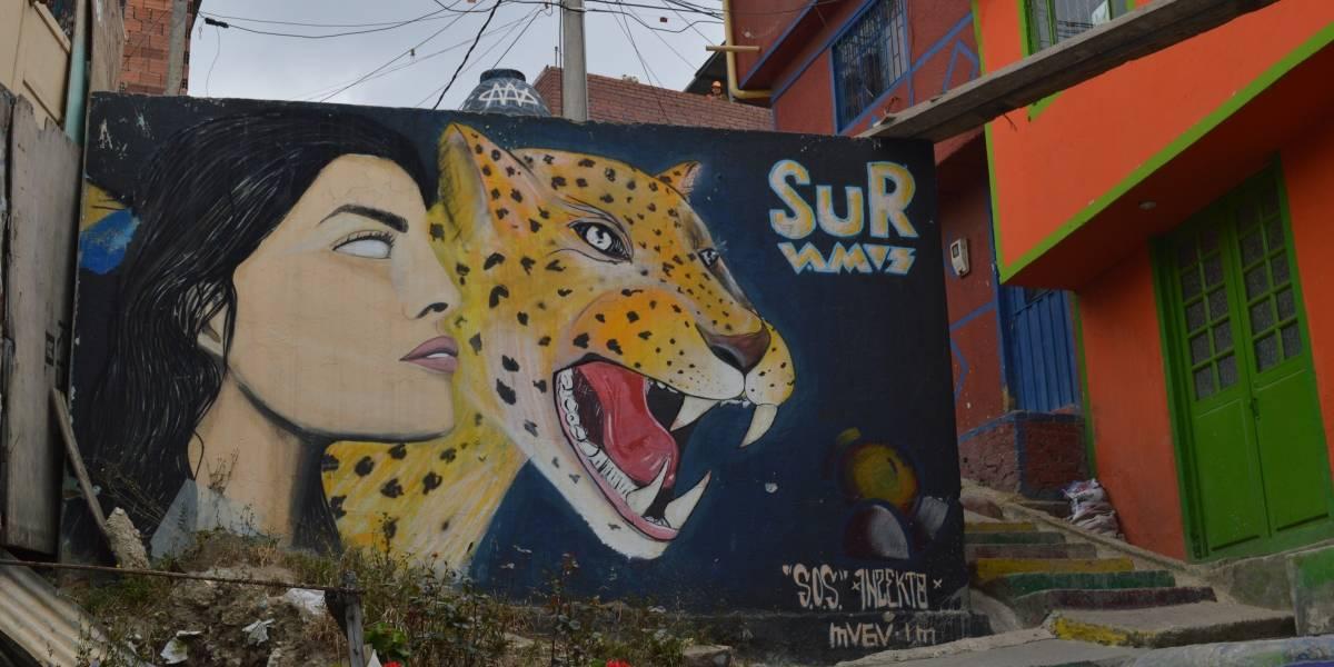 El arte se toma los muros de Ciudad Bolívar