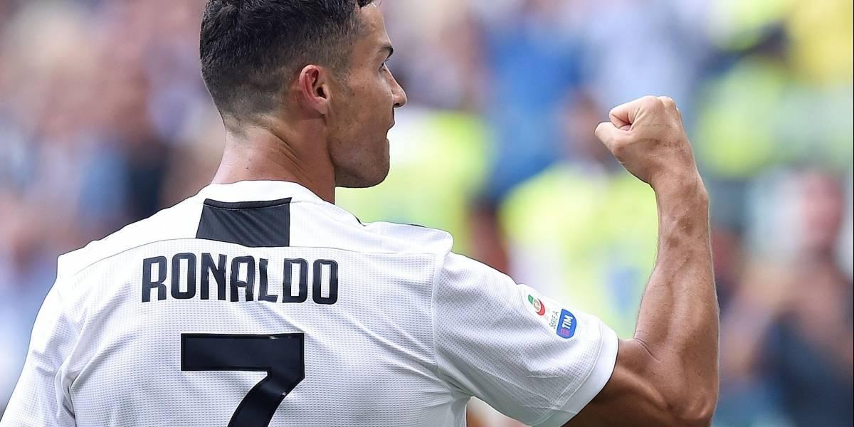 El mensaje de Cristiano Ronaldo tras marcar un doblete con la Juventus