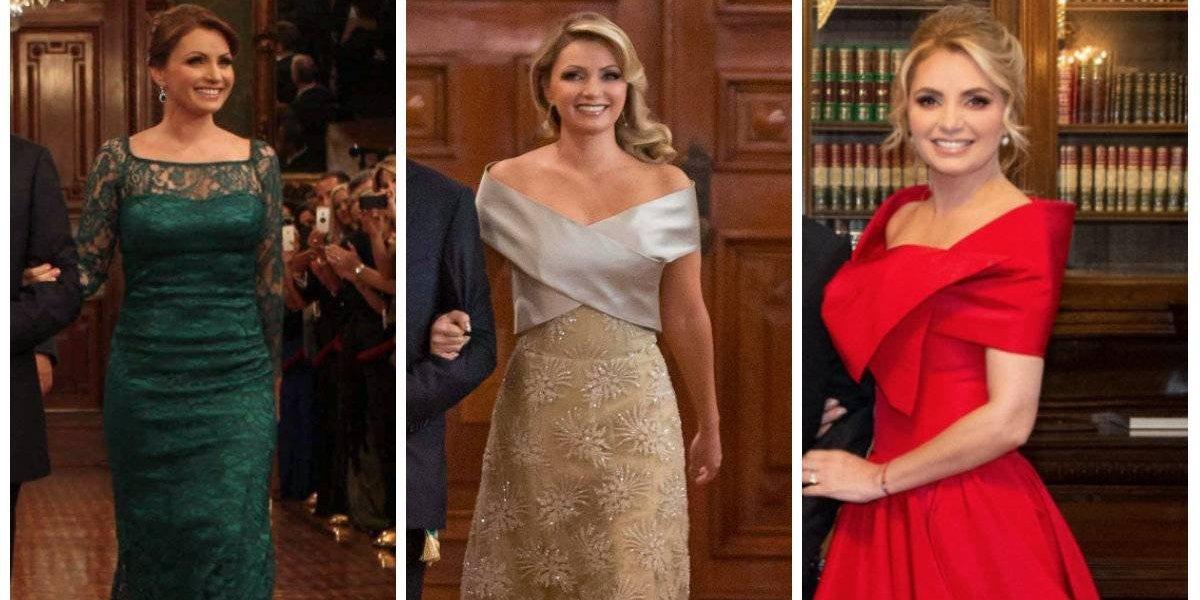 Angélica Rivera: los vestidos que lució para \'El Grito\' de Independencia