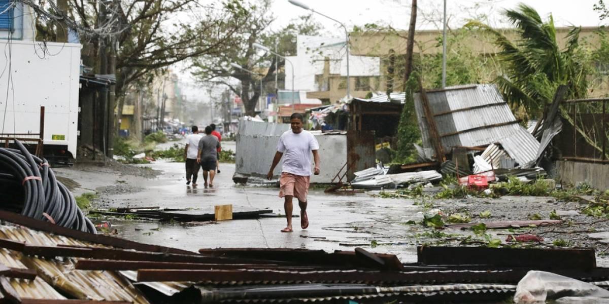 Tifón Mangkhut deja 59 muertos en su paso por Filipinas