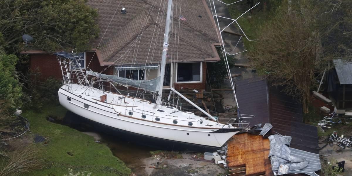 El destructivo paso del ex huracán Florence: 13 víctimas fatales e inundaciones históricas