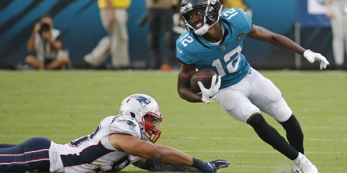 Patriots sufren su primer derrota ante los Jaguars