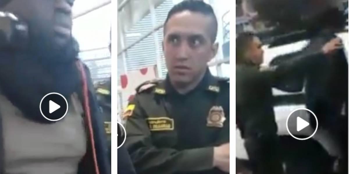 Video: Denuncian presunto caso de racismo por parte de policías en Bogotá