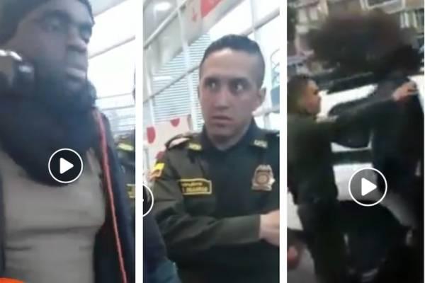 Denuncian presunto caso de racismo por parte de policías en Bogotá