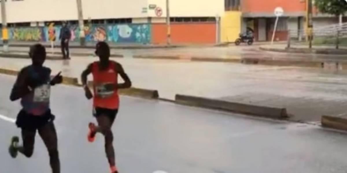 Atropellan a atleta keniano que aspiraba a ganarse la Media Maratón de Medellín