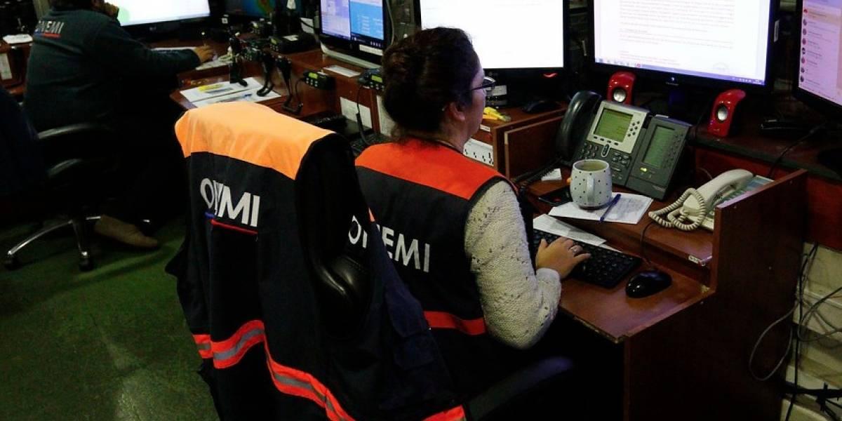 """Dirección Meteorológica de Chile determinó """"alerta temprana preventiva regional"""" por sistema frontal"""
