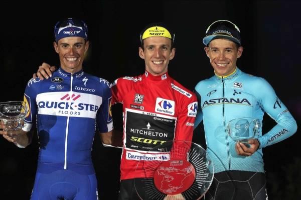 Miguel Ángel López fue tercero en La Vuelta a España