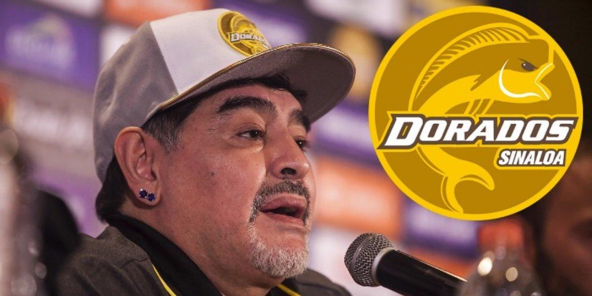 Debut de Diego Maradona como DT de Dorados ¿Dónde y a qué hora verlo?
