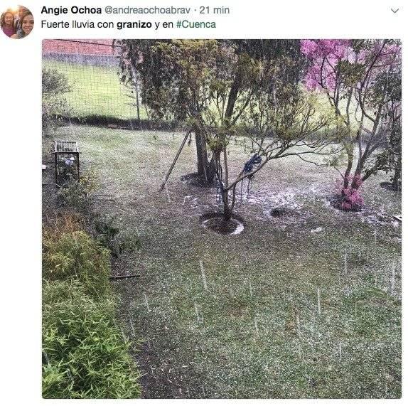 granizo Cuenca