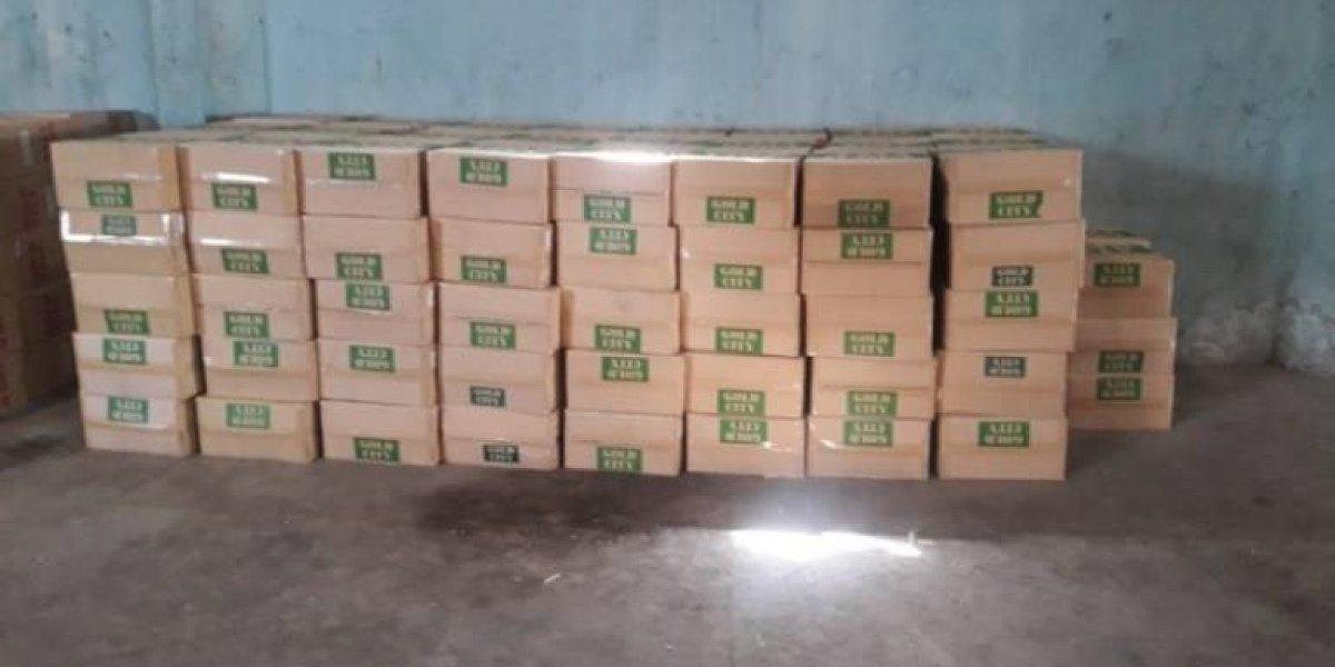 DGA frustra contrabando de 10.8 MM de unidades de cigarrillos