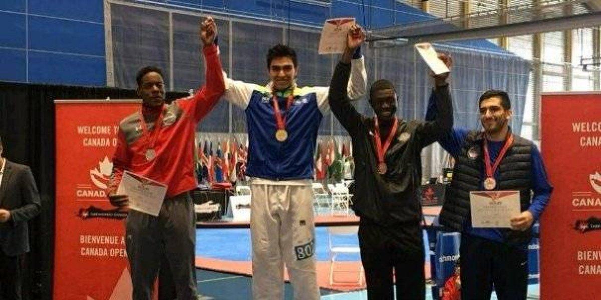 Taekwondo mexicano luce en Canadá