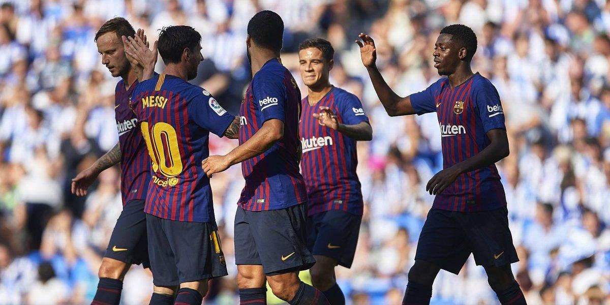 Barcelona se afianza en el primer puesto