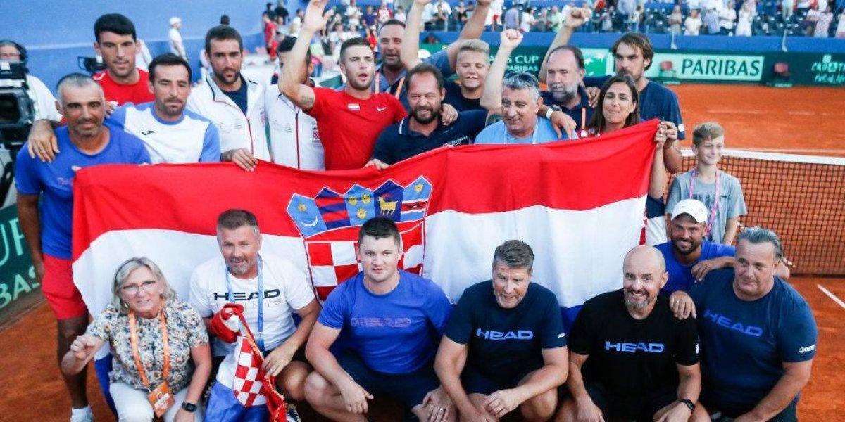 ¿Revancha de Rusia 2018? Croacia venció a Estados Unidos y disputará la final de la Copa Davis contra Francia