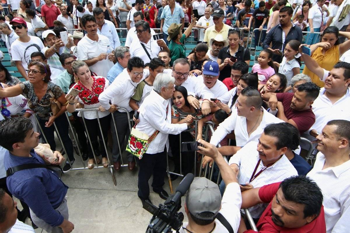 El político tabasqueño aseguró que visitará más de dos mil 500 municipios de México. Foto: Cuartoscuro.