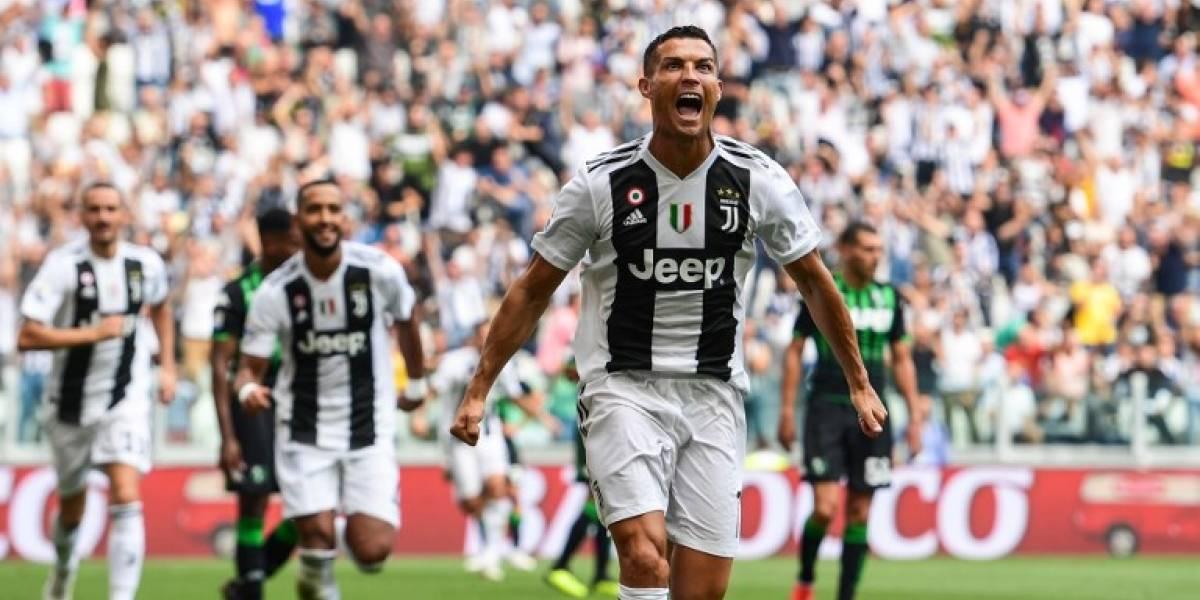 VIDEOS. Cristiano anota sus primeros goles oficiales yle da la victoria a la Juventus
