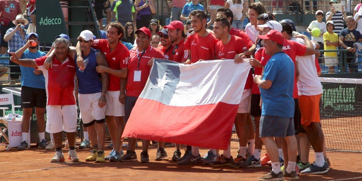 ¿Qué viene y dónde jugará Chile en la Copa Davis 2019?