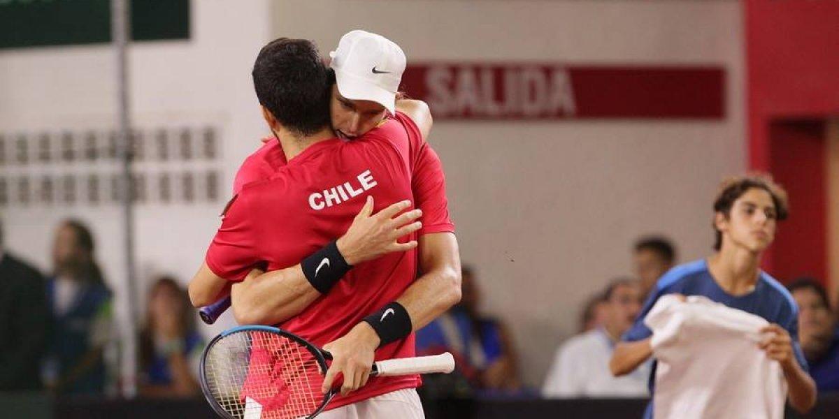 Chile disputará el repechaje del Grupo Mundial de Copa Davis gracias al triunfo de Canadá