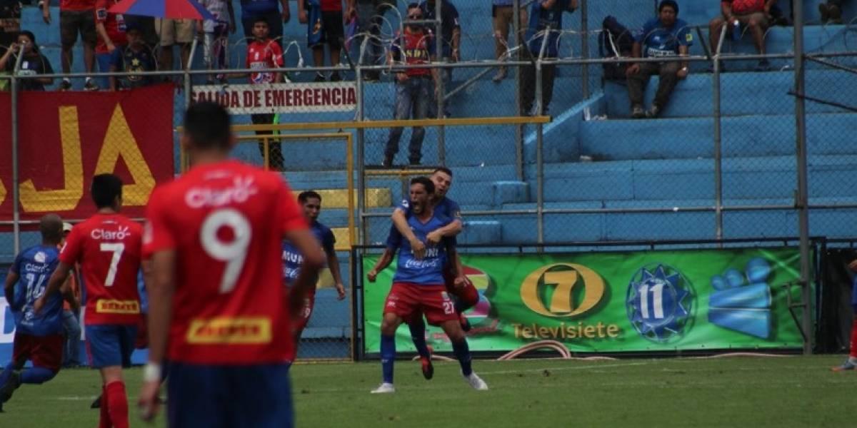 Malacateco remonta y learrebata la victoria a Municipal en El Trébol