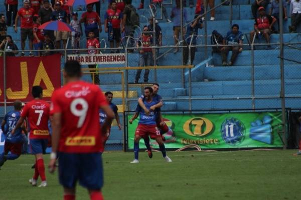 Gol de Malacateco contra Municipal