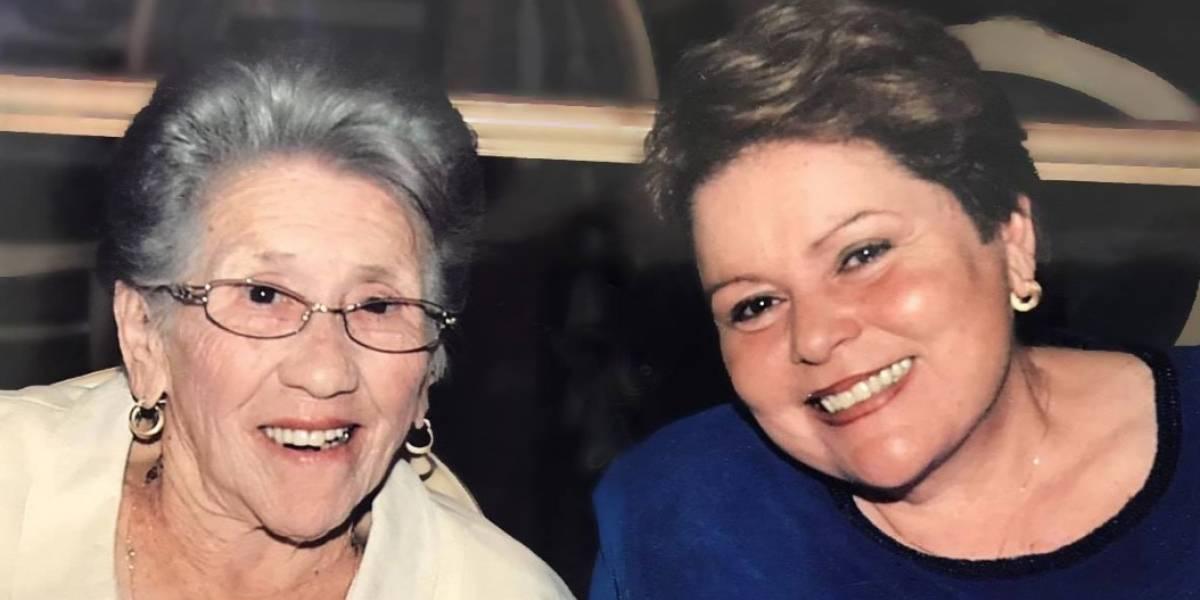 De luto dirigente sindical Aida Díaz con muerte de su madre