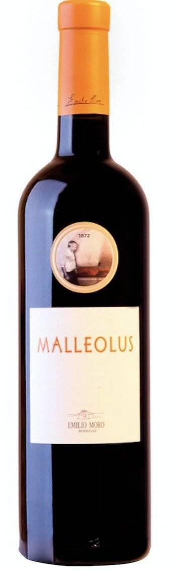•Vino Malleolus. Cultivado a partir de uvas de majuelos de entre 25 y 75 años, es uno de los vinos más premiados a nivel internacional. Cortesía