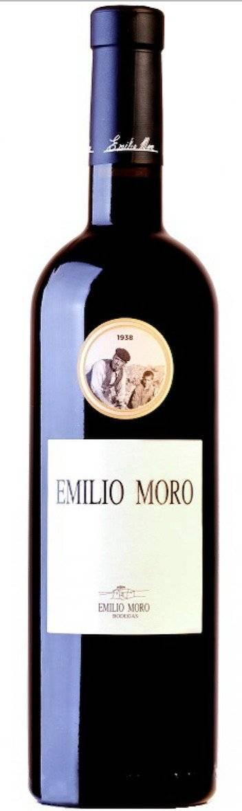 Vino Emilio Moro. El corazón de la bodega, de gran volumen con un postgusto persistente, resultado de la elaboración con viñedos de entre 15 y 25 años. Cortesía