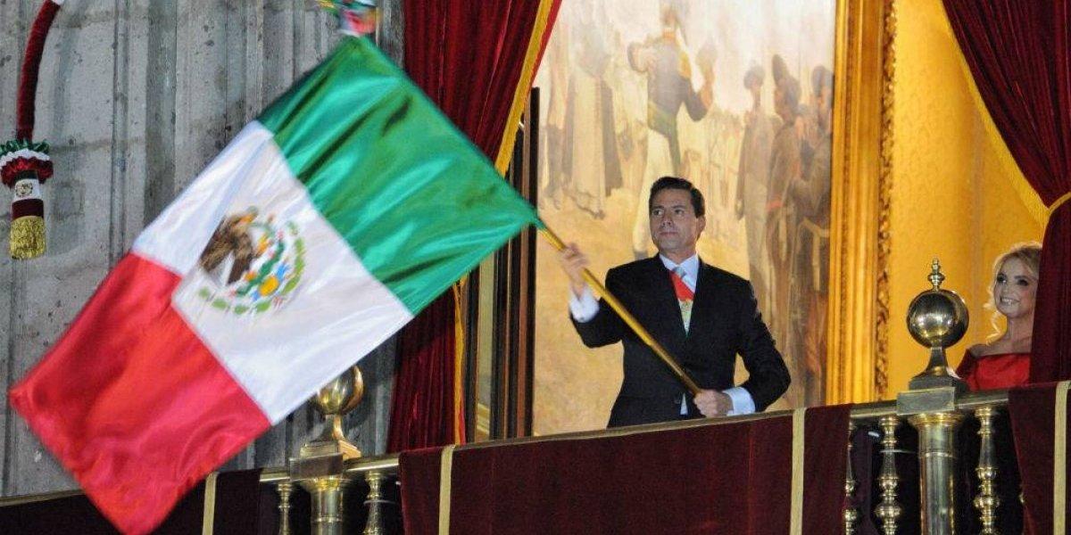 Enrique Peña Nieto da último Grito de Independencia de su gobierno