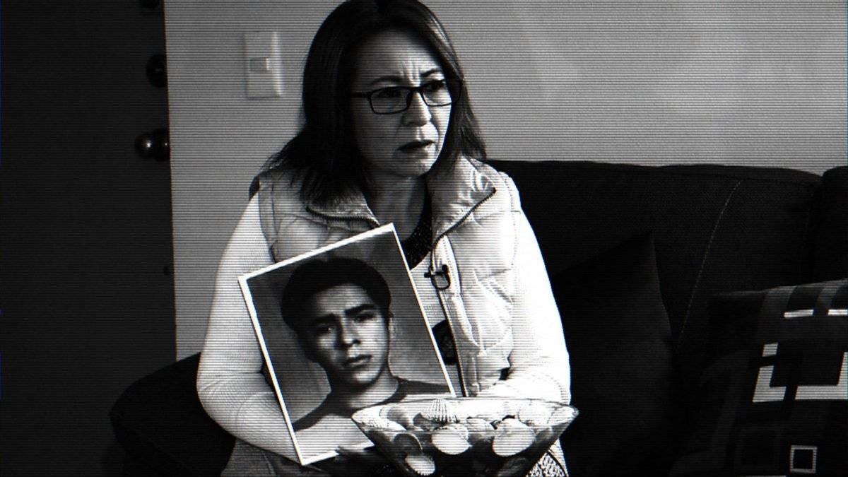 La hondureña Ana Enamorado busca a su hijo, Oscar, quien desapareció en Jalisco.