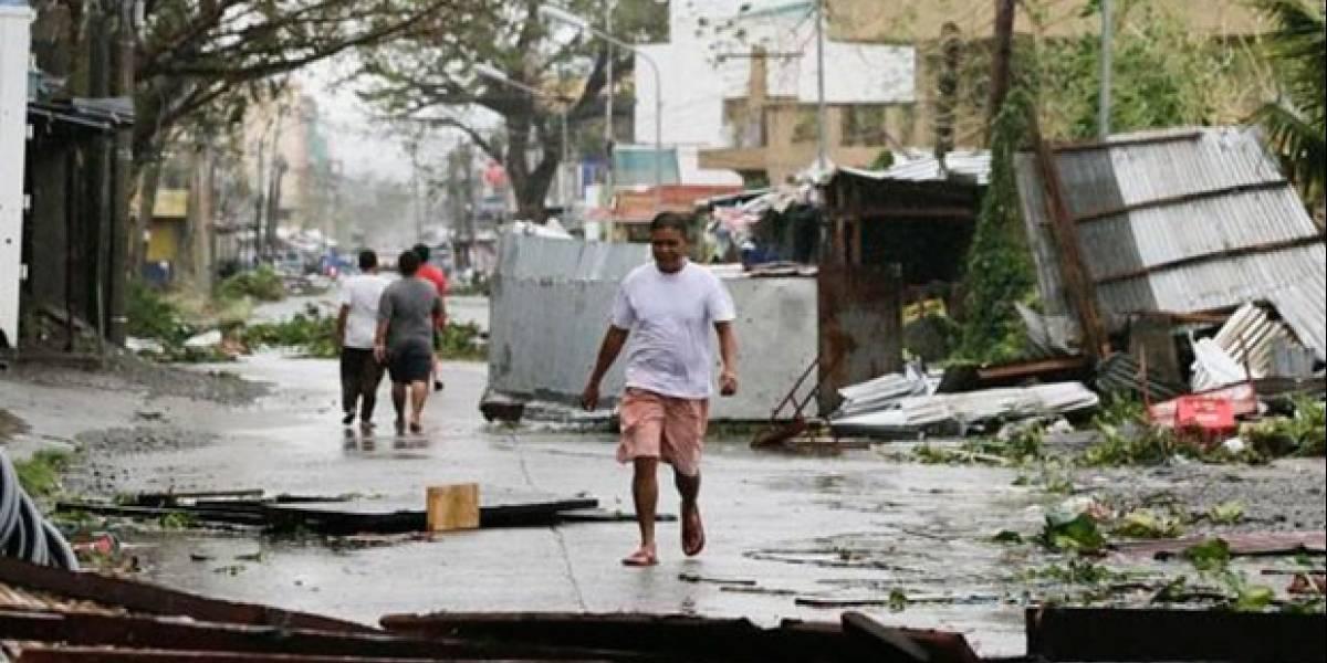 Más de medio centenar de muertos en Filipinas tras el feroz tifón paso de Mangkhut