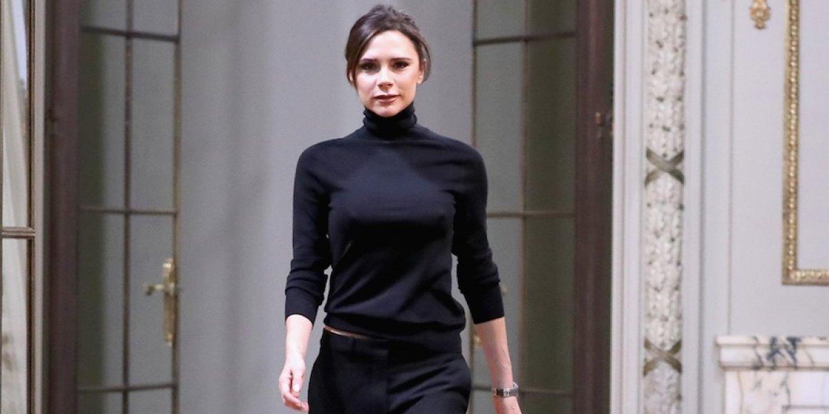 Victoria Beckham celebra 10 años en la moda con su primer desfile en Londres