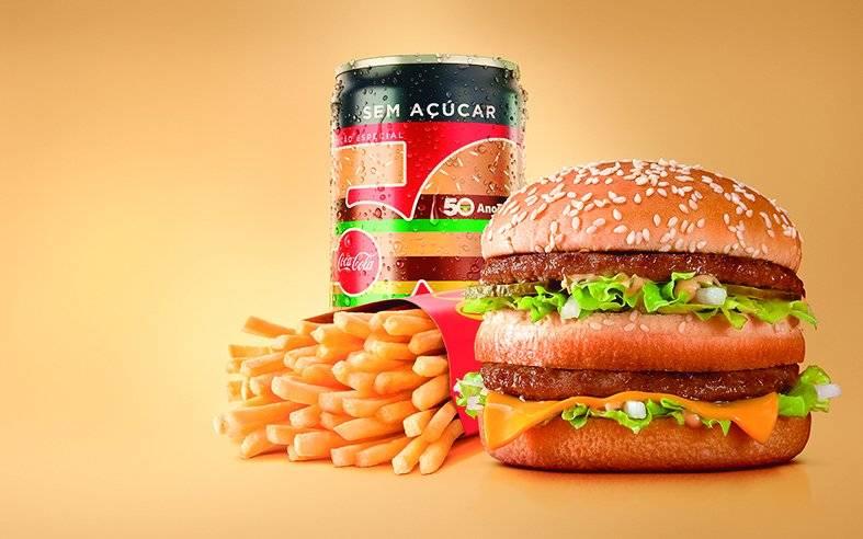 Big Mac, McDonald's, Coca-Cola