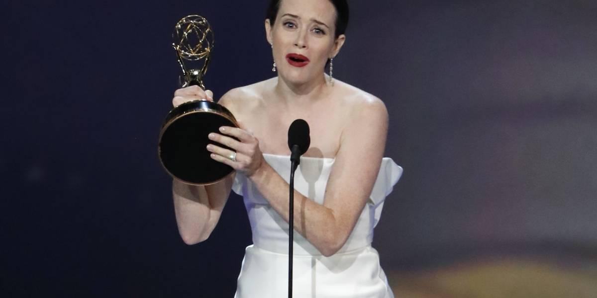 Emmy 2018: Claire Foy vence como melhor atriz em série dramática
