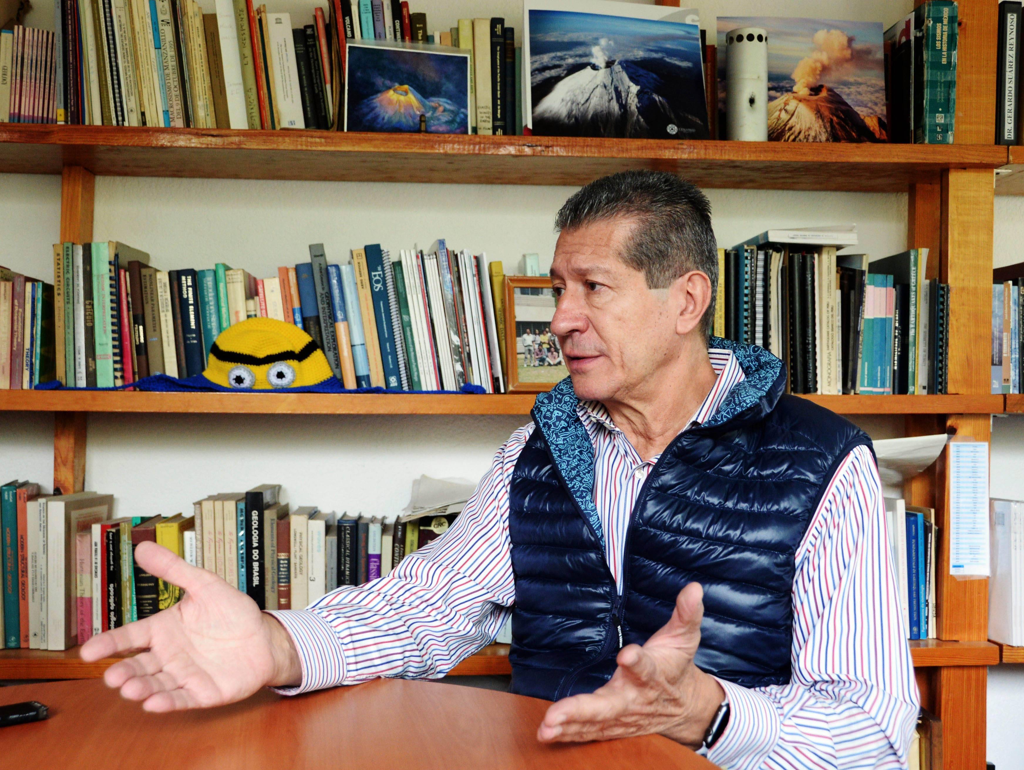 Gerardo Suarez, del IGf, acerca del algoritmo para la alerta sísmica