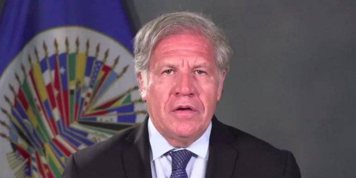 """Luis Almagro aclara sus dichos y encara al gobierno venezolano: """"Ni me callo ni me voy"""""""