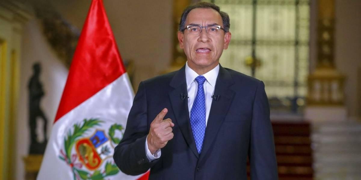 """El presidente de Perú la tiene clara: """"Niños no volverán a clases presenciales hasta que tengamos la vacuna"""""""