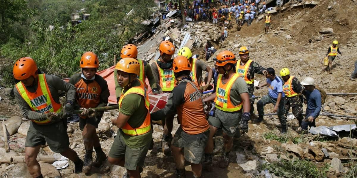 Aumenta a 65 el número de muertos en Filipinas por tifón Mangkhut