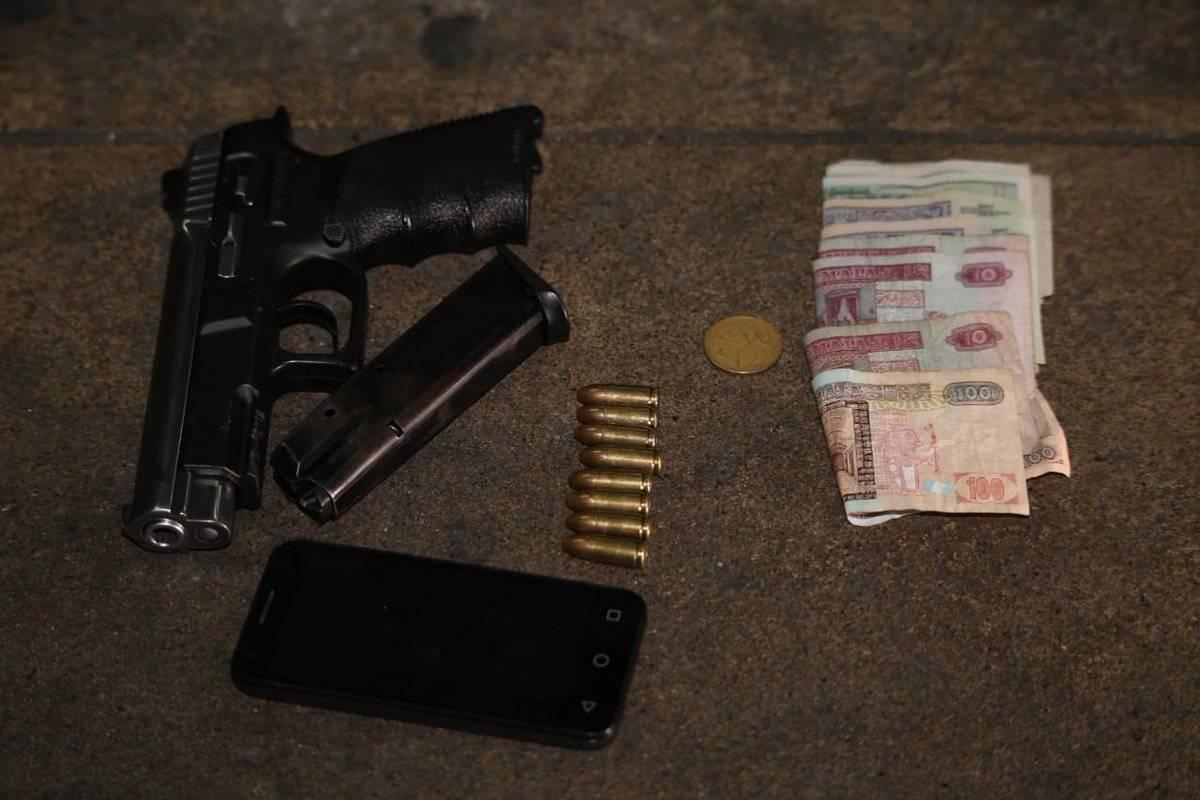 asaltante capturada en calzada San Juan